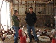 Eden and Bobby at Coastal Hill Farm