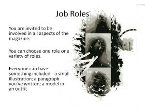 Job Roles for Student Submissions
