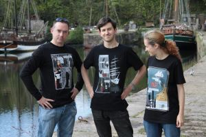 Timeline 67 is a story told over a series of t-shirts