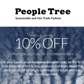 email sign up voucher