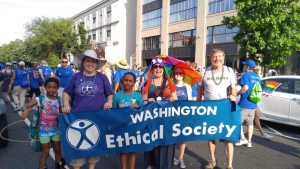 You will often find our group walking in the annual Pride Parade through D.C.