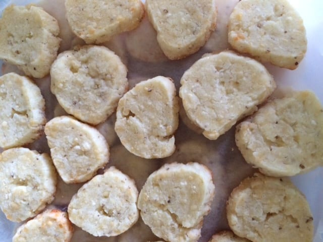 Parmigiano and White Kampot Pepper Crackers
