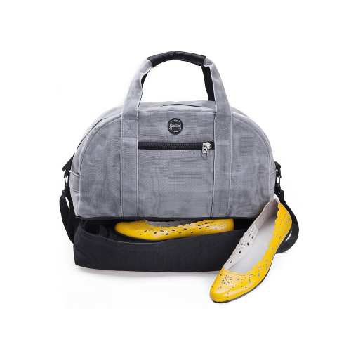 Transfer – Ethical Weekend Bag - Gray - Shoes
