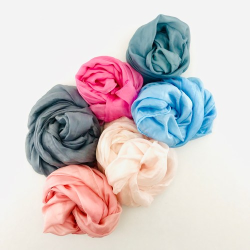 Gemstones Collection - Ethical Silk Scarf