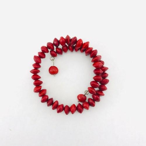 Iron Bracelet 1 Turn – Natural Seeds Bracelet