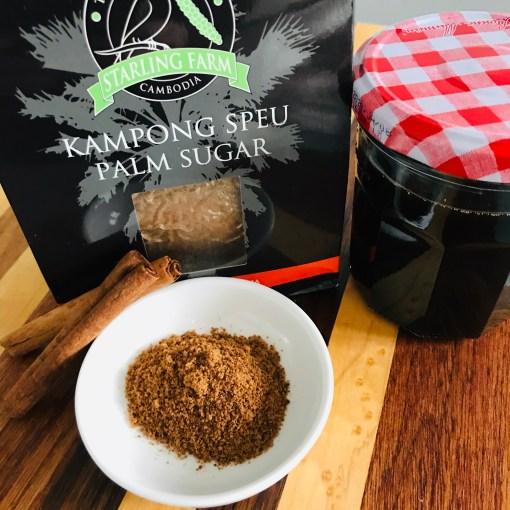 Cinnamon syrup - Palm Sugar Flower Kampong Speu Starling Farm