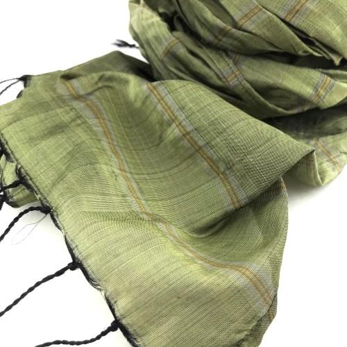 Fair Trade Scarf – Green Tea – Essential