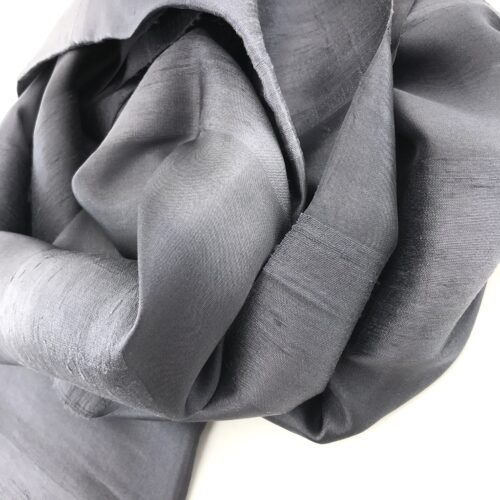 Evening Scarf – Charcoal - Detail