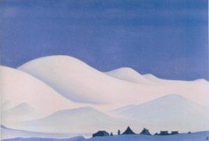 Картина Н.К.Рериха. Чантанг (Северный Тибет). [Чан-Танг. Северный Тибет] 1939