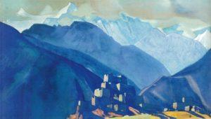 Картина Н.К.Рериха. Лахуль. [Твердыни Тибета] 1932
