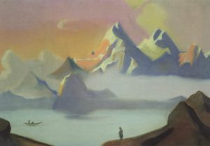 Картина Н.К.Рериха. Тибет 1936