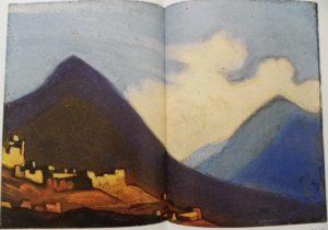 Картина Н.К.Рериха. Тибет II