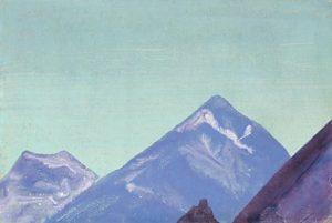 Картина Н.К.Рериха. Бон-по. Тибет 1928