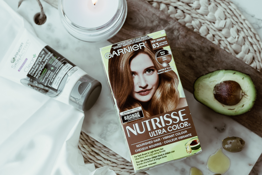 Busy Mom's Spa Night - Garnier Nutrisse Challenge