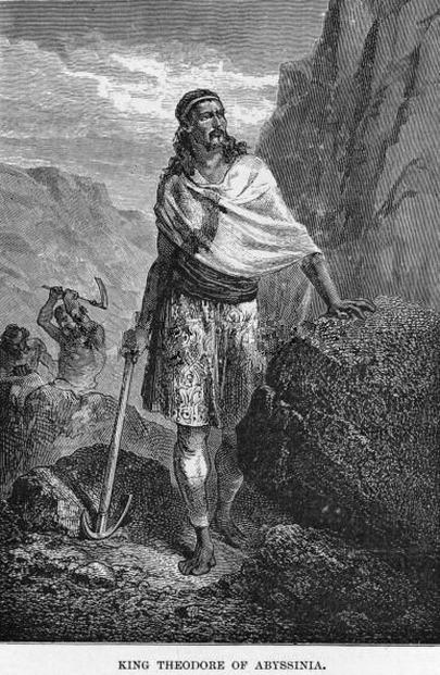 Tewodros Dynasty 18551868 ETHIOPIAN ROYAL DYNASTY