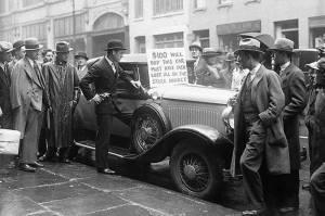Zullen beleggers in indextrackers in een recessie zich voelen als die uit de crash van 1929?