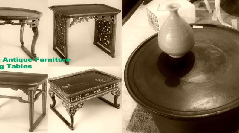 李朝アンティーク家具 テーブルの種類