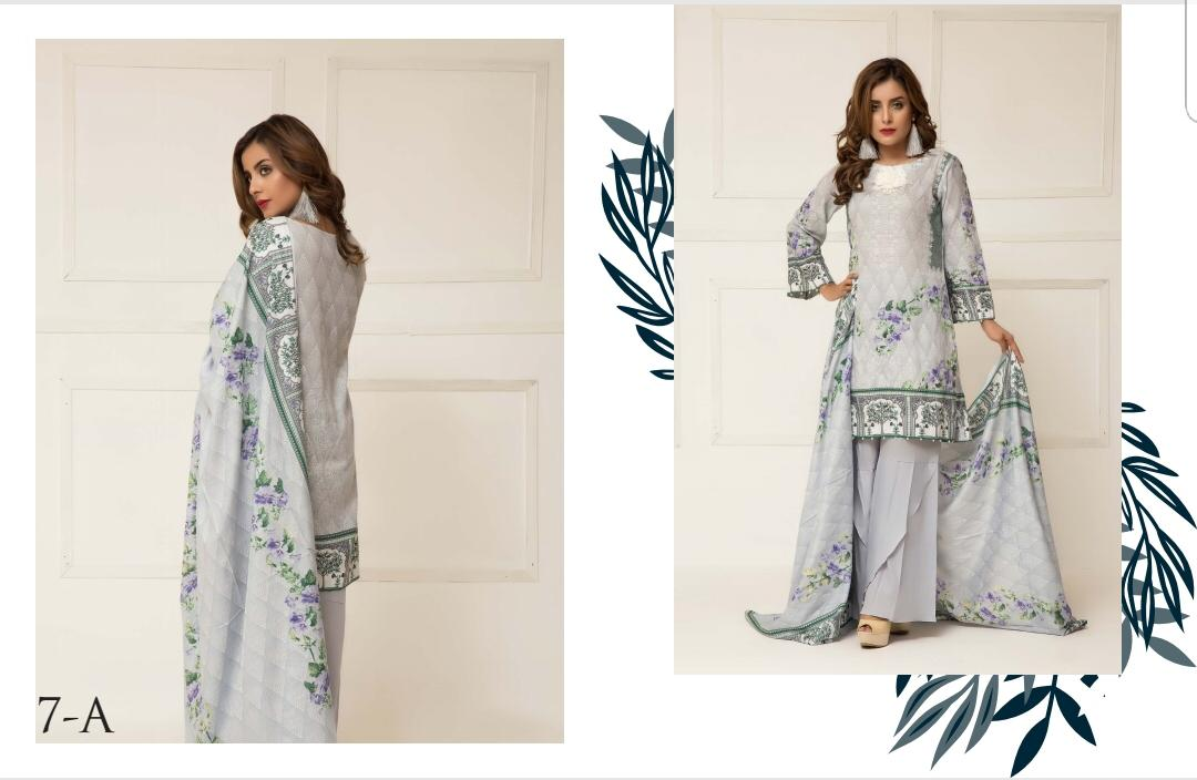 e6a9c50a6a Published on February 22, 2019 in ZS Textile Signature Icon Vol 1 Printed  Lawn Cotton Dress Material at Wholesale RateFull resolution (1080 × 704)