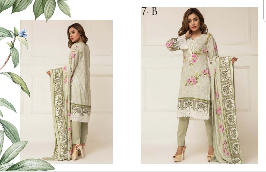 8cf92ae2b3 Published on February 22, 2019 in ZS Textile Signature Icon Vol 1 Printed  Lawn Cotton Dress Material at Wholesale RateFull resolution (1080 × 699)