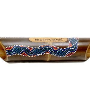 Altavoz de bambú pintado Skin