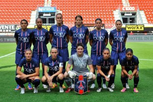 Equipe féminine du PSG (2012)