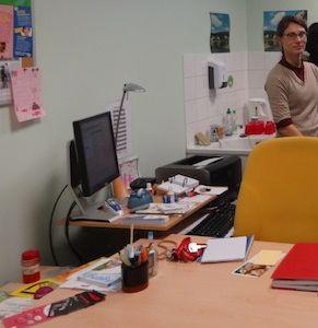 Mme M., infirmière scolaire au collège Anatole France de Sarcelles