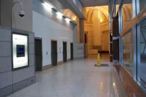 Westpac House elevator banks