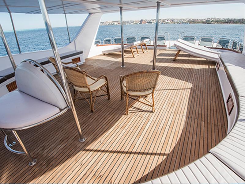 DIe Yacht MS Sea Serpent