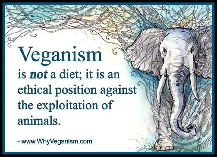 Ο Βιγκανισμός ΔΕΝ είναι διατροφή.