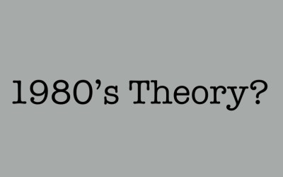 """1980s Debate Theory is Not """"Traditional"""""""