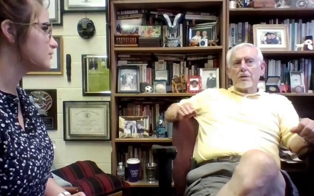 STOA 2017-18 LD: Ethos Interviews Dr. Joe Dunn