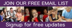 Join our free email list