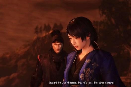 Tôi đã lầm, hắn cũng như những tên samurai khác...
