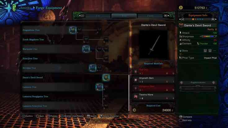 Monster Hunter World Charge Blades