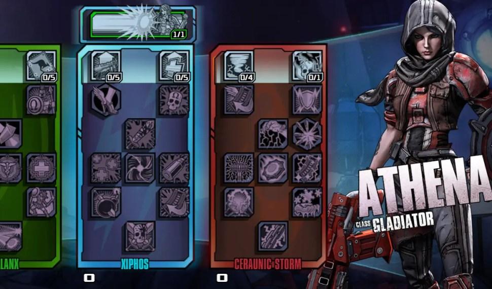 Borderlands: The Pre-Sequel Builds – Athena Gladiator Builds