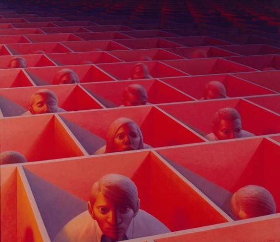 Essere-a-distanza: il requisito della società del consumo