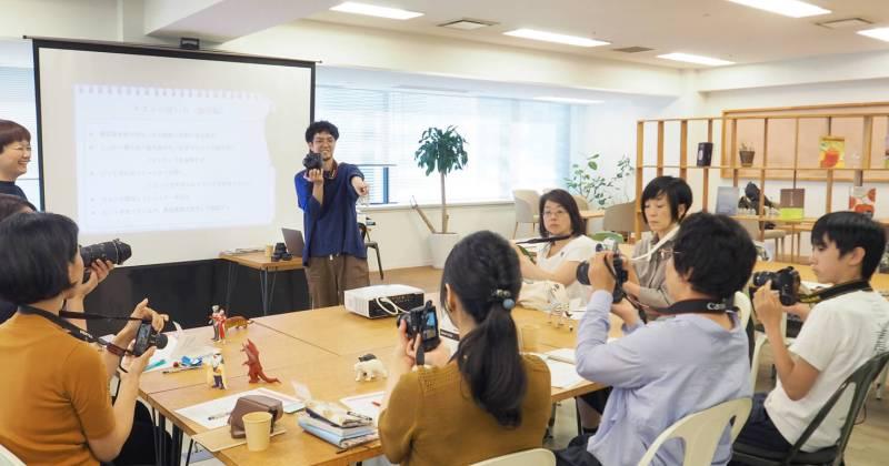 たのしいカメラ学校2017 デジタル一眼講座/入門コース第1回を開催しました!