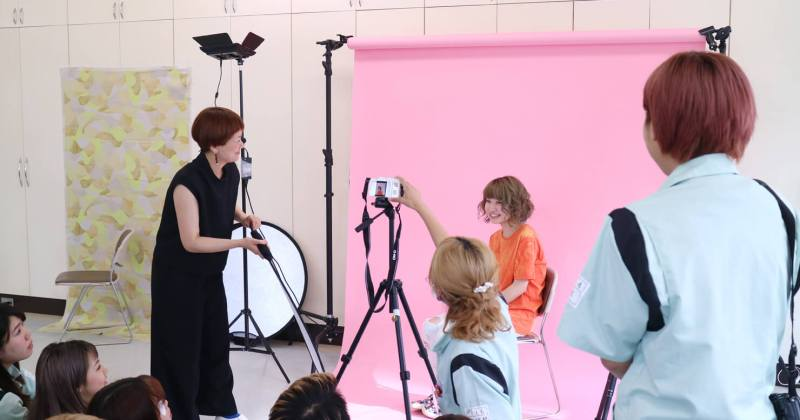 7/6(木)住田美容専門学校にて10回目の撮影講座を開催しました。