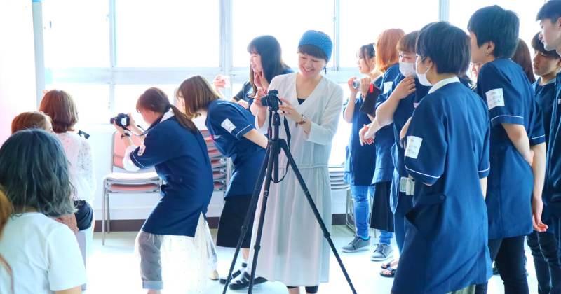 7/5(木)・6(金)住田美容専門学校にて撮影講座を開催しました。