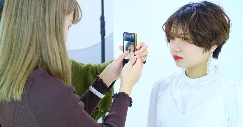 11/29(木)住田美容専門学校にて撮影講座を開催しました。