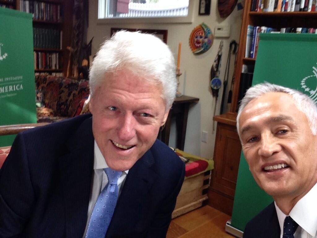 Si Bill Clinton Fuera Presidente Jorge Ramos Avalos