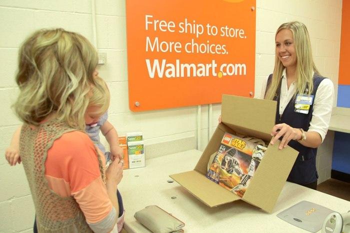 Walmart online'daki yüzde 7 büyümeden mutlu değil