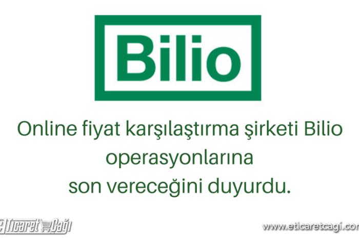 Online fiyat karşılaştırma şirketi Bilio operasyonlarına son vereceğini duyurdu