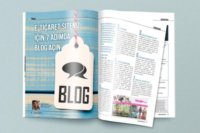 E-ticaret siteniz için 7 adımda blog açın