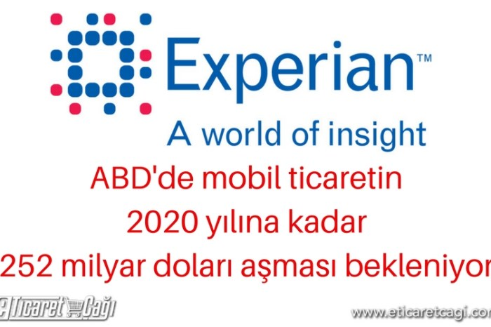 ABD'de mobil ticaretin 2020 yılına kadar 252 milyar doları aşması bekleniyor.