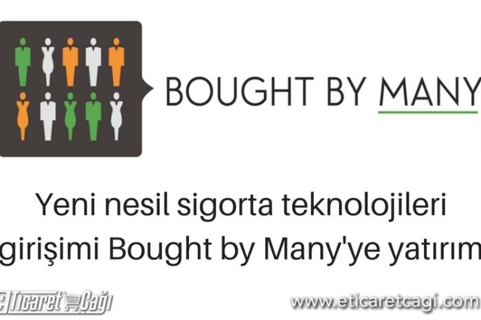 Yeni nesil sigorta teknolojileri girişimi Bought by Many'ye yatırım