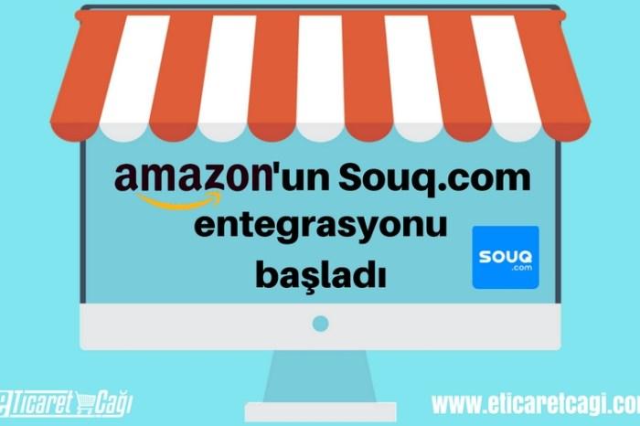 Amazon'un Souq.com entegrasyonu başladı