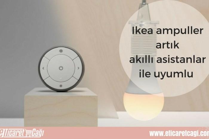 Ikea ampuller artık akıllı asistanlar ile uyumlu!