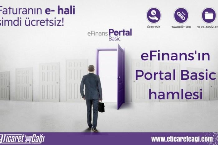 eFinans'ın Portal Basic hamlesi