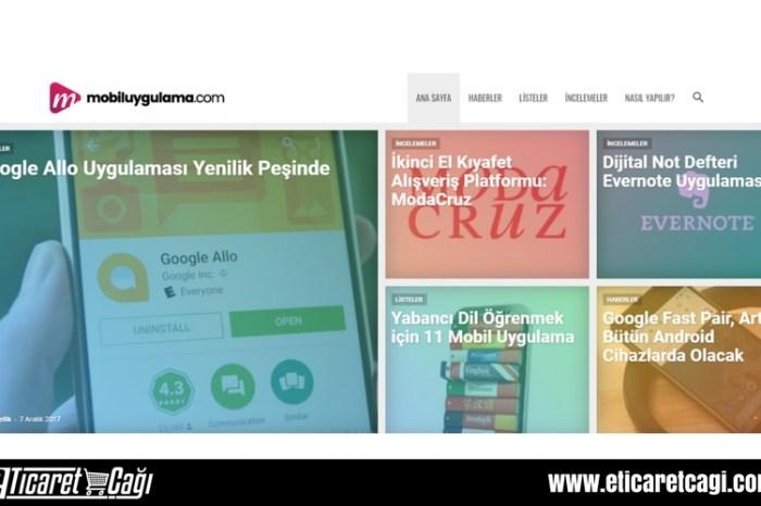 Mobil uygulama dünyasına dair tüm gelişmeler mobiluygulama.com'da!